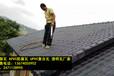 广西新农村建设树脂瓦、市政屋面装饰瓦、塑料瓦厂家