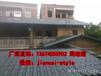 深圳装饰合成树脂瓦、屋顶塑料工程瓦、平改坡改造瓦