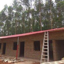 山东日照树脂瓦、园林改造塑料瓦、树脂一体瓦、厂房隔热瓦图片