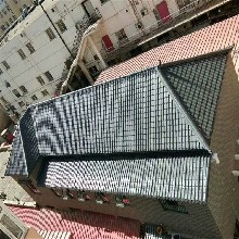 广东优质一部分耐候树脂瓦、屋顶翻新塑料瓦、仿古一体瓦厂家图片