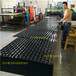 PVC排水板塑料排水板屋面专用
