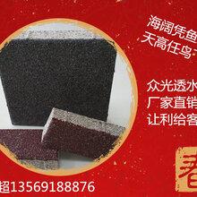 湖北十堰陶瓷透水磚,丹江口透水磚廠家圖片