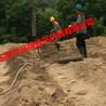 岩石柱塞式劈裂棒在河南施工现场裂开岩石一绝