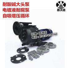 KB-40012L泵沃德化工泵0.75KW耐酸碱自吸泵