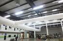 博新布风管应用公共场所-健身房