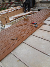 户外庭院生态木塑木防腐木碳化木施工条件铺设法