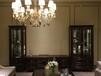 豪森家具圣巴利美式轻奢组合酒柜1805
