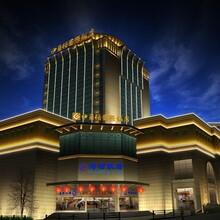 长沙株洲湘潭酒店外墙灯光泛光照明设计