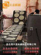 山东春卷皮机烤鸭饼机蛋皮机厂家价格销售图片