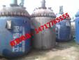 上海虹口出售二手10吨10立方10000升搪瓷反应釜价格10吨搪瓷反应釜