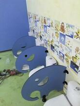 嘉興市學校廁所隔斷卡通廁所隔板彩色動物造型衛生間隔板幼兒園圖片