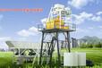 方圆经济型混凝土搅拌站HZS50