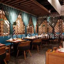 餐厅隔断餐厅隔断装修_餐厅装饰定制图片