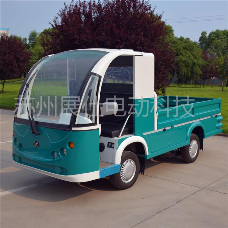 景区清扫环卫车,四轮电动环卫垃圾车,校园街道垃圾清运车