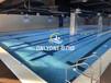 湖南衡陽健身房游泳池設備定制-拼裝式鋼結構泳池設備恒溫游泳池