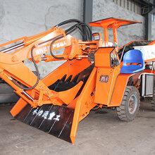湖南矿用扒矿机永州挖掘式扒装机永力通80型竖井扒矿机