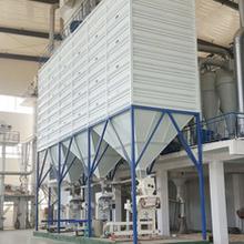 200噸方形鋼板倉實現著更環保的倉儲環境圖片