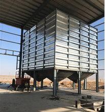 粮食保鲜仓储使用粮食钢板仓就对了图片