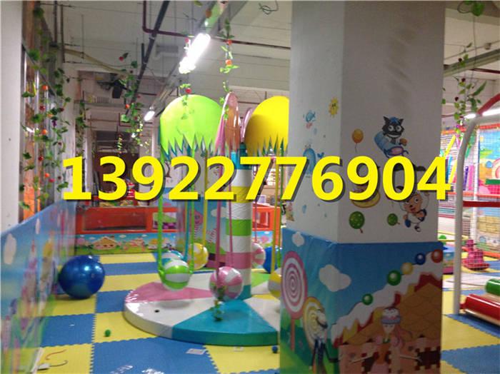 淘气堡厂家直销大型室内游乐场设备组合儿童乐园充气配件设施-组合