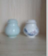 陶瓷化妆品包装盒/瓶打样定做陶瓷霜膏瓶精油瓶厂家加工生产陶瓷瓶图片