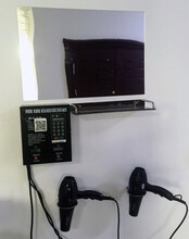 微信支付双路电吹风机控制器浴室专用澡堂学校