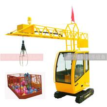 游乐型儿童塔吊WKD-2儿童塔吊游乐设备厂家直供图片