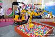 儿童电动挖掘机的保养方法工作视频济宁微装游乐设备l