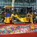 儿童挖掘机儿童游乐挖掘机原装现货厂家直销Z